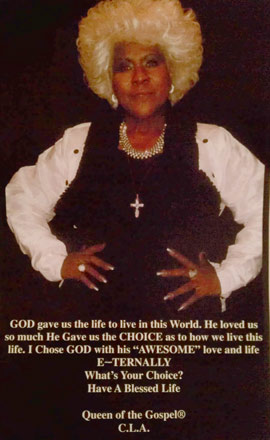 Evangelist Cornelia L. Armon, Pastor and Founder